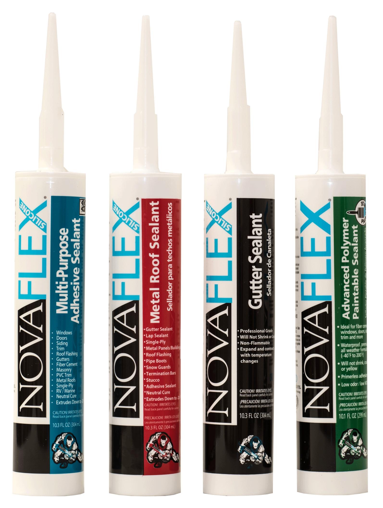 novaflex metal roof sealant